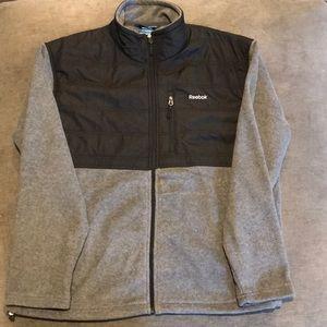 Men's Reebok full zip soft shell jacket